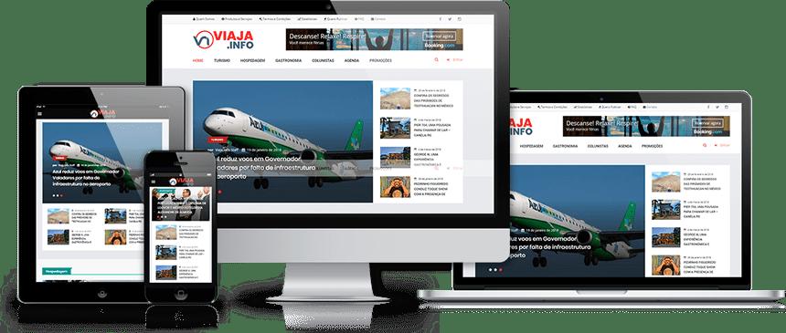 Sites e Sistemas responsivos